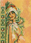 Click for more details of Arabian Woman - Small (cross-stitch kit) by Lanarte