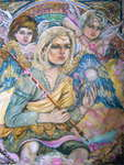 Click for more details of Archangel Mikhail and angels. (limited edition print) by Yumi Sugai