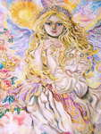 Click for more details of Archangel Raphael. (limited edition print) by Yumi Sugai