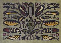 Click for more details of Arranging Lures (cross stitch) by Ink Circles