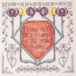 Click for more details of Art Nouveau Tulip (cross-stitch pattern) by Rosewood Manor