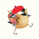 Click for more details of Artist Chick (cross-stitch kit) by Valerie Pfeiffer