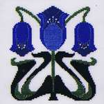 Click for more details of Arts and Crafts Coronet (cross stitch) by Heartland House Designs