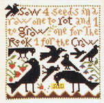 Click for more details of As the Crow Flies (cross stitch) by The Prairie Schooler