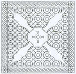 Click for more details of Assisi Cats (blackwork kit) by Classic Embroidery