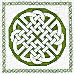 Click for more details of Assisi Celtic Knot (cross-stitch pattern) by Anne Peden