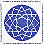 Click for more details of Assisi Turkish Knot (cross-stitch pattern) by Anne Peden
