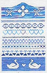 Click for more details of Assissi Band Sampler (cross-stitch) by Butterfly Stitches