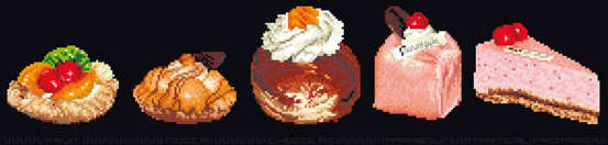 Click for more details of Assortment of Cakes (cross-stitch kit) by Thea Gouverneur