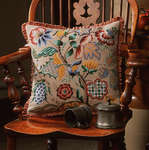 Click for more details of Audley End Cushion Front (tapestry) by Glorafilia