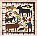 Click for more details of August (cross-stitch pattern) by The Prairie Schooler