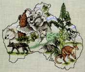 Click for more details of Australia (cross-stitch pattern) by Pegasus
