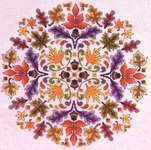 Click for more details of Autumn a la Round (cross-stitch) by Glendon Place