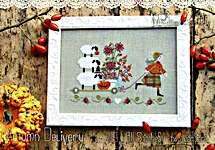 Click for more details of Autumn Delivery (cross stitch) by Madame Chantilly