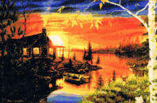 Click for more details of Autumn Evening (cross-stitch pattern) by Kustom Krafts
