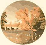 Click for more details of Autumn Reflections (cross-stitch kit) by John Clayton