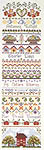 Click for more details of Autumn's Twilight (cross-stitch pattern) by Lavender Wings