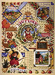 Click for more details of Autumn Sampler (cross-stitch) by Janlynn
