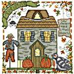 Click for more details of Autumn Songbird (cross-stitch) by Imaginating