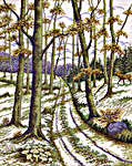 Click for more details of Autumn Woodland (cross-stitch) by Eva Rosenstand