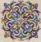 Click for more details of Avental (cross-stitch pattern) by Ink Circles