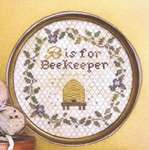 Click for more details of B is for Bee Keeper (cross stitch) by Heartstring Samplery