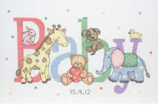 Click for more details of Baby Animals (cross stitch) by Anchor