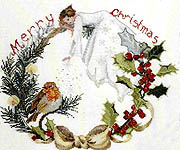 Click for more details of Baby Flake (cross-stitch pattern) by Dew Drop