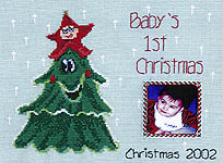 Click for more details of Baby's First Christmas (cross-stitch pattern) by Kustom Krafts