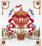 Click for more details of Balloon Over Tuscany (cross stitch) by StitchWorld