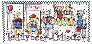 Click for more details of Bear & Bunny Collector (cross-stitch pattern) by Jeremiah Junction