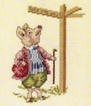 Click for more details of Beatrix Potter - The Tale of Pigling Bland (cross-stitch pattern) by Green Apple