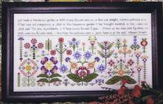 Click for more details of Beauteous Garden (cross stitch) by Rosewood Manor