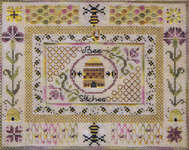 Click for more details of Bee Stitches (cross-stitch pattern) by Jeannette Douglas