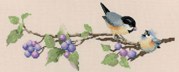 Click for more details of Berry Time (cross-stitch kit) by Valerie Pfeiffer