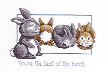 Click for more details of Best Friends (cross stitch) by Ginger & Spice