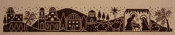 Click for more details of Bethlehem (cross-stitch) by Imaginating