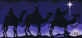 Click for more details of Bethlehem Silhouettes (cross stitch) by Stoney Creek