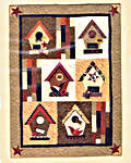 Click for more details of Birdhouse Inspiration (patchwork and quilting pattern) by Bobbie G. Designs