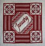 Click for more details of Birthstone Series - Garnet (cross-stitch) by Northern Expressions Needlework