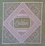 Click for more details of Birthstone Series - Opal (cross-stitch) by Northern Expressions Needlework