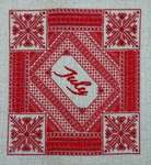 Click for more details of Birthstone Series : Ruby (cross-stitch pattern) by Northern Expressions Needlework