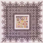 Click for more details of Black Lace Sampler (cross stitch) by Rosewood Manor