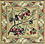 Click for more details of Blackthorn and Bittersweet (tapestry kit) by Rose Swalwell