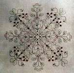 Click for more details of Blackwork and Beads (blackwork) by Carolyn Manning