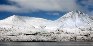 Click for more details of Blaven the Cuillins of Skye (photograph) by Margaret Elliot