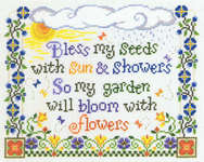 Click for more details of Bless my Seeds (cross-stitch) by Imaginating