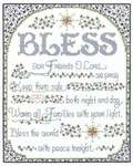 Click for more details of Bless the World with Peace (cross-stitch) by Imaginating