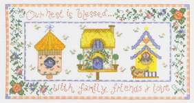Click for more details of Blessed Nest (cross-stitch) by Imaginating