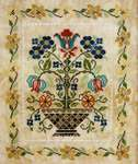 Click for more details of Blooming Bouquets #2 Cheerful (cross stitch) by Jeannette Douglas